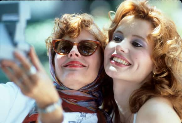 Original Thelma and Louise ending different