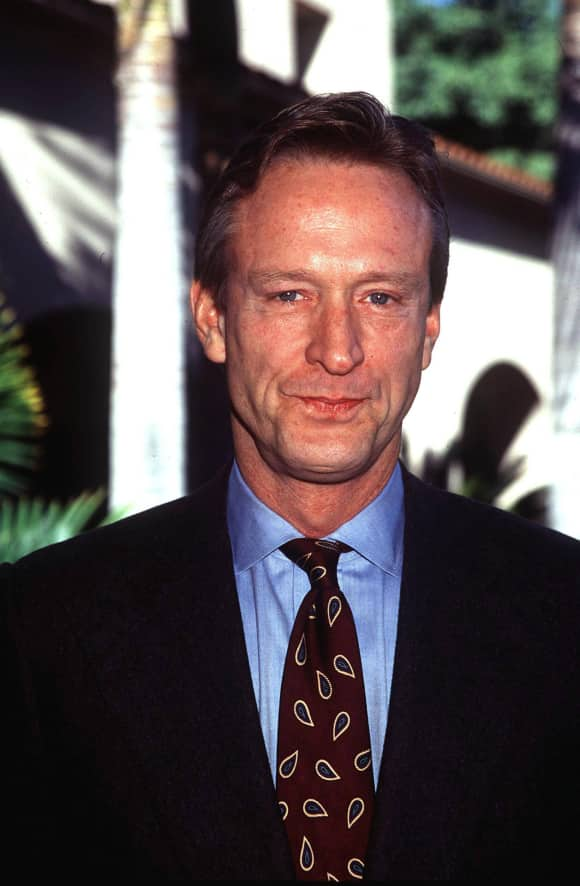 "Ted Shackelford played  ""Gary Ewing"" in ""Knots Landing"""