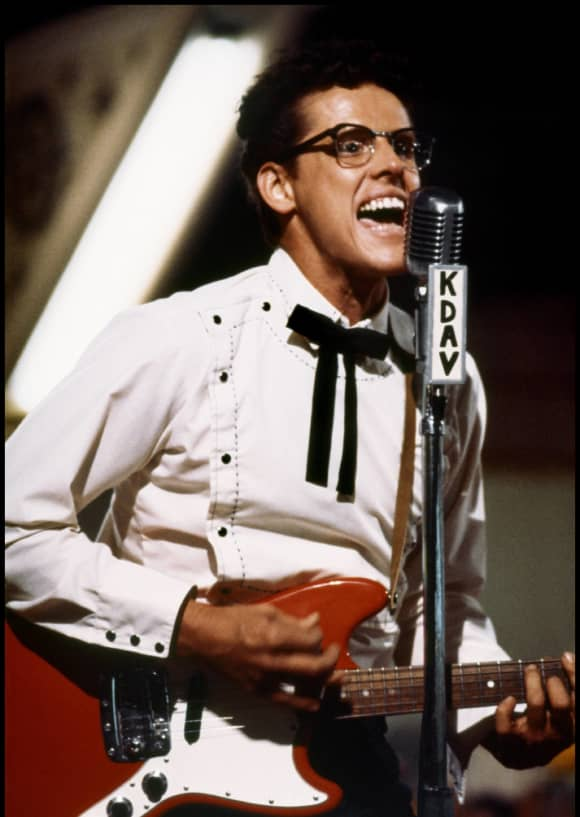 Gary Busey 'The Buddy Holly Story' 1978