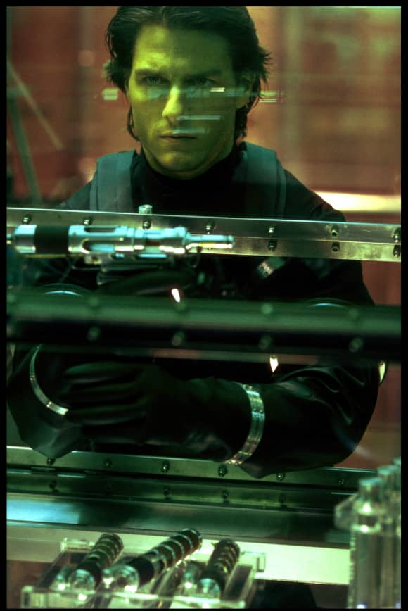 Tom Cruise in 'Mission Impossible 2'