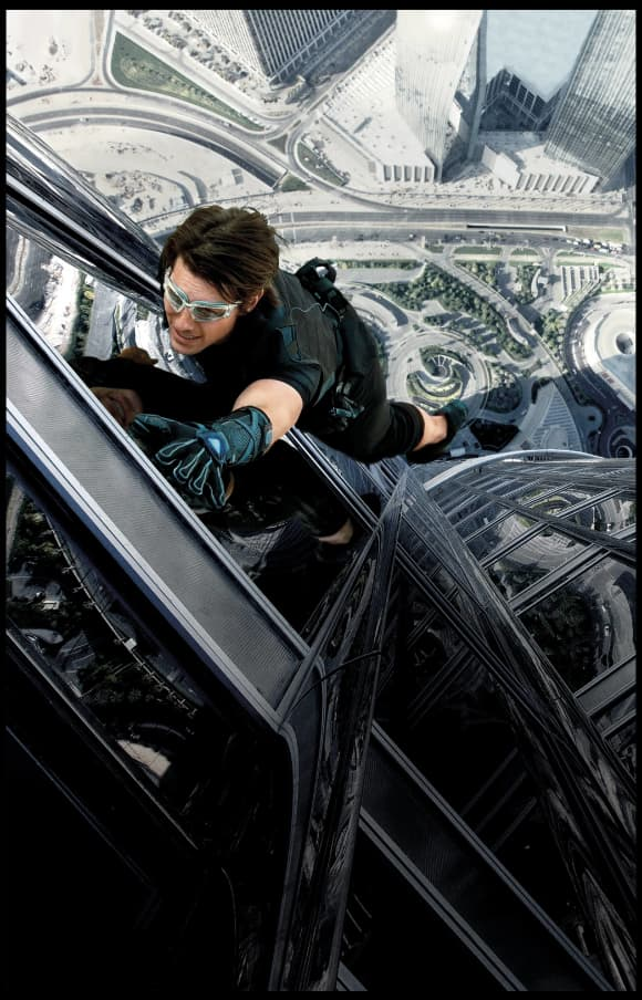Tom Cruise in Mission 'Impossible: Ghost Protocol'