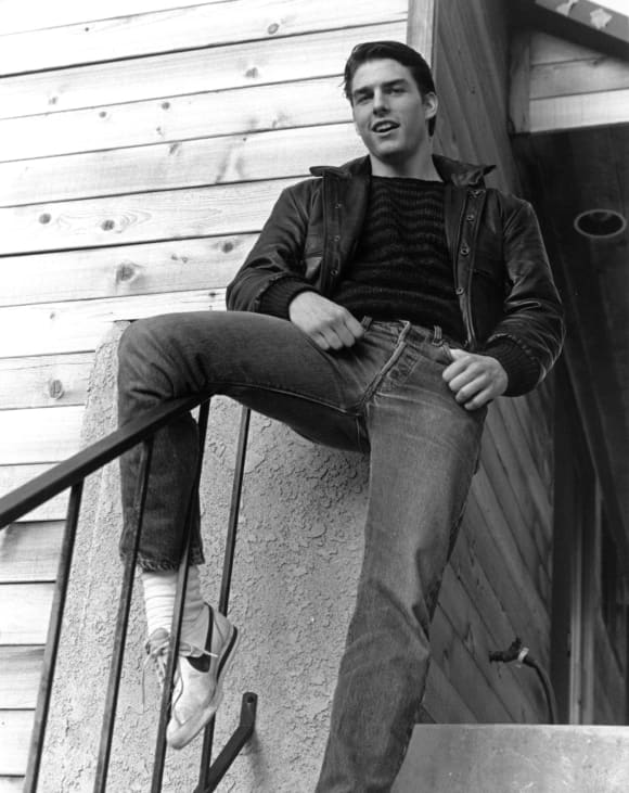 Tom Cruise in 'The Outsiders'