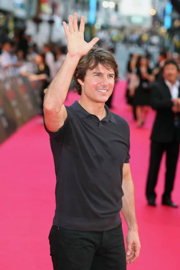 """Tom Cruise at the """"Mission Impossible – Rogue Nation"""" Premiere in Tokyo"""