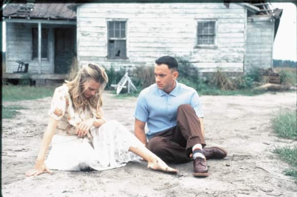 """Tom Hanks and Robin Wright in """"Forrest Gump"""""""