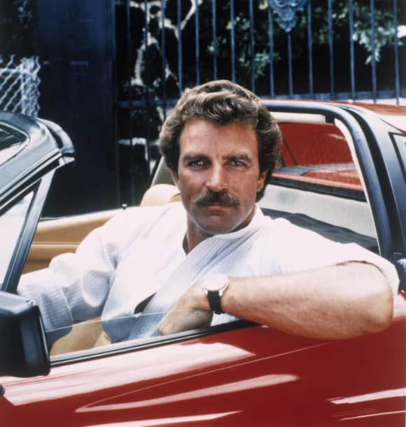 "Tom Selleck in ""Magnum"""