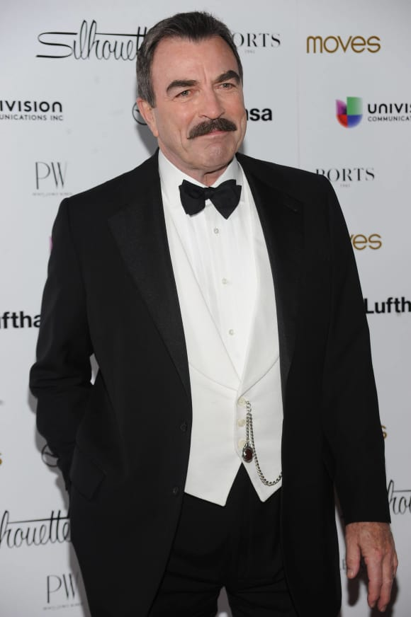 """Magnum"" star Tom Selleck"