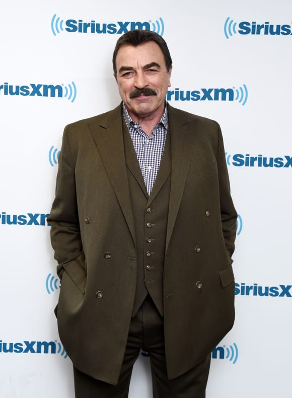"""Magnum, P.I."" star Tom Selleck"