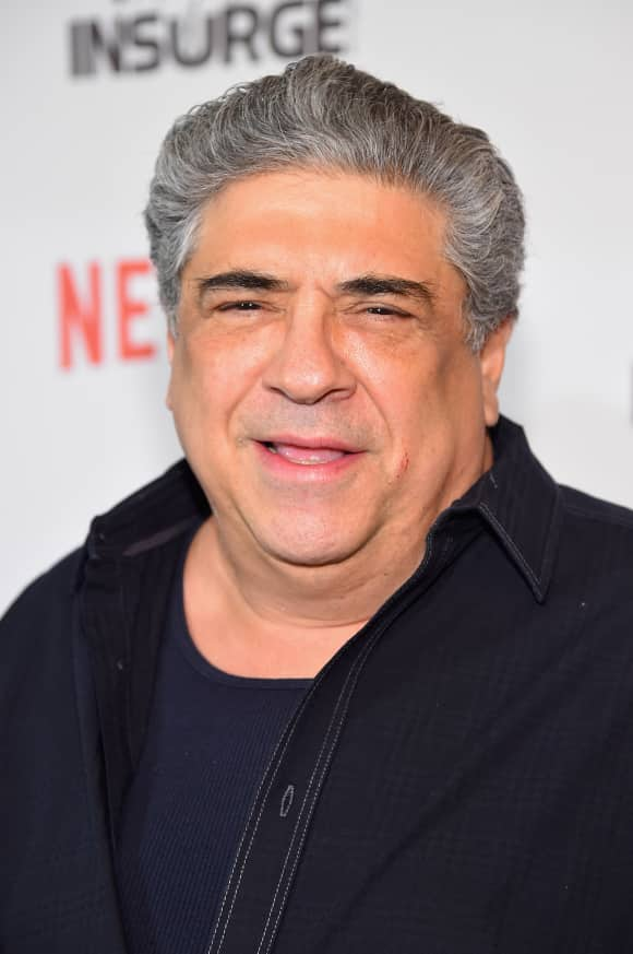 "Vincent Pastore starred in ""The Sopranos"""