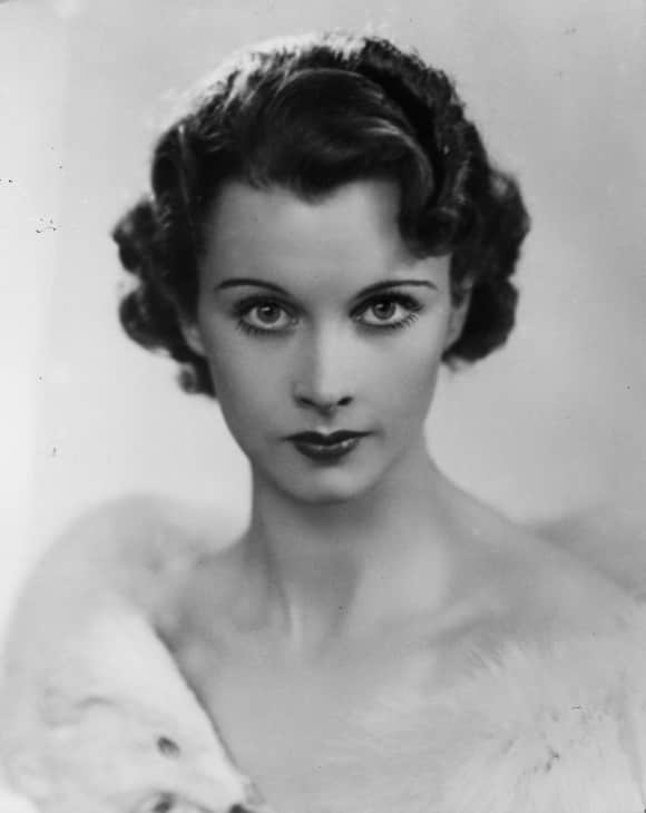 """Gone with the Wind"" star Vivien Leigh in 1935"