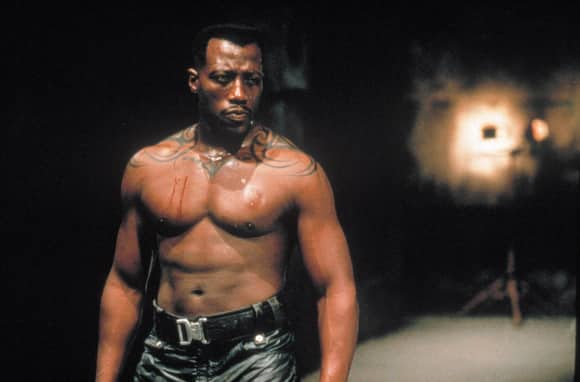 "Wesley Snipes in ""Blade"""
