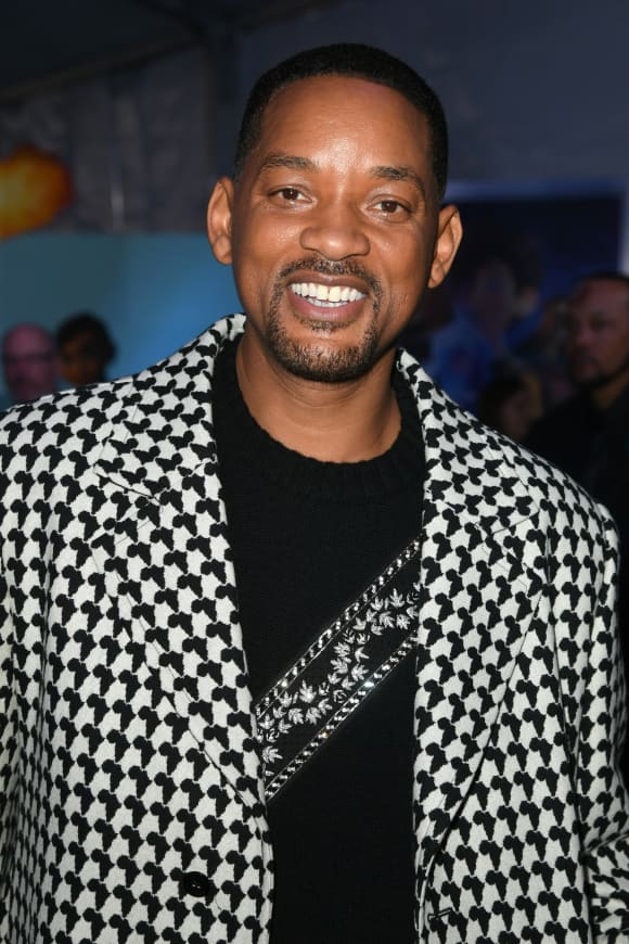 """Will Smith attends the premiere of 20th Century Fox's """"Spies In Disguise""""."""