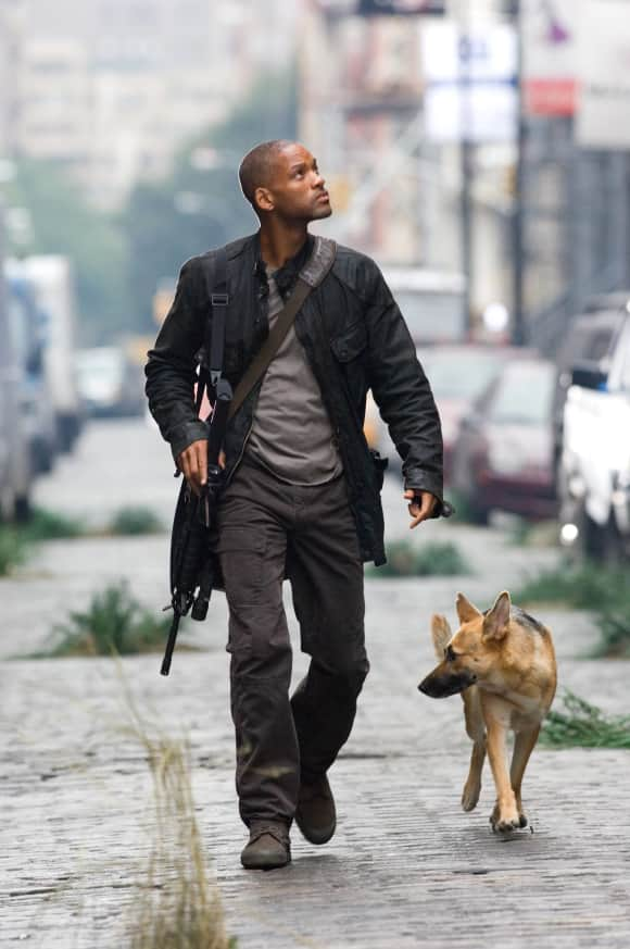 I Am Legend was originally meant to have a totally different ending