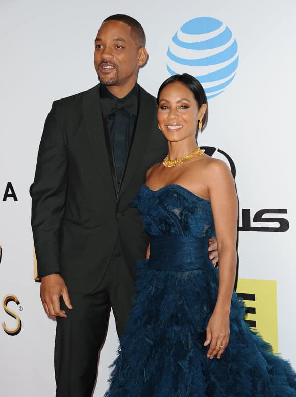 Will Smith and Jada Pinket-Smith in 2016