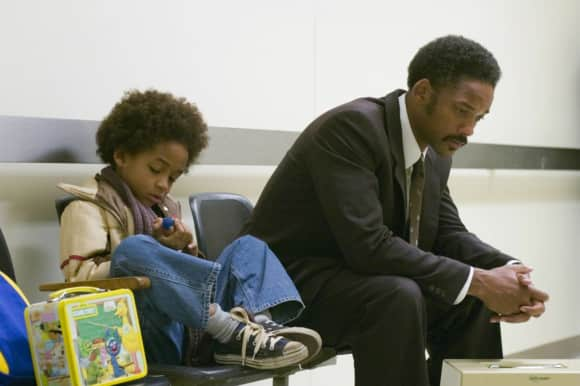 """Will Smith and Jaden Smith in """"The Pursuit of Happiness"""""""