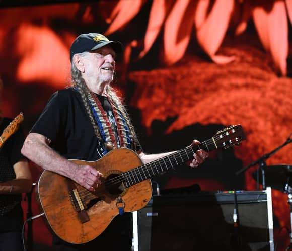 Willie Nelson in 2017