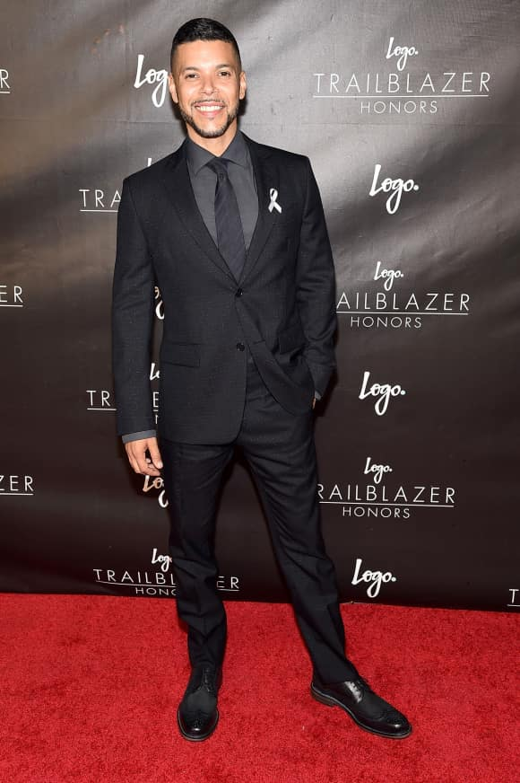 Wilson Cruz beim Logo's Trailblazer Honors Event
