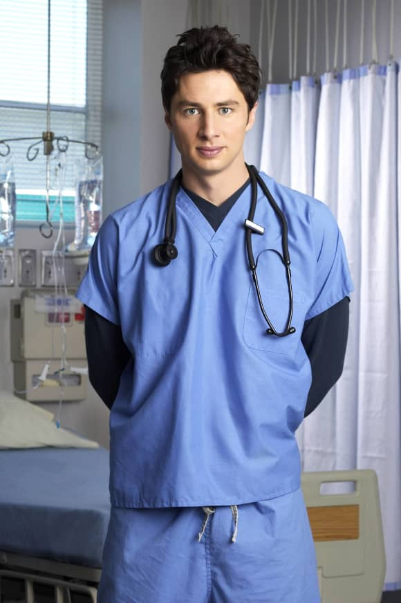 Zach Braff  in 'Scrubs'