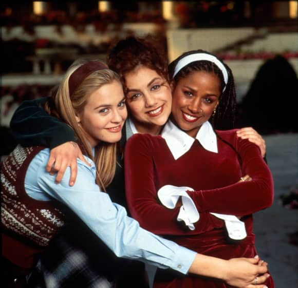 "Alicia Silverstone, Brittany Murphy and Stacey Dash in ""Clueless"""