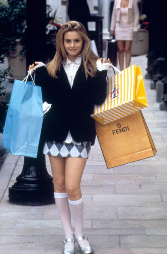 Alicia Silverstone as Cher in Clueless famous quote