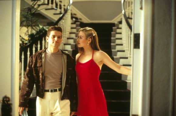 """Clueless"" stars Justin Walker and Alicia Silverstone"
