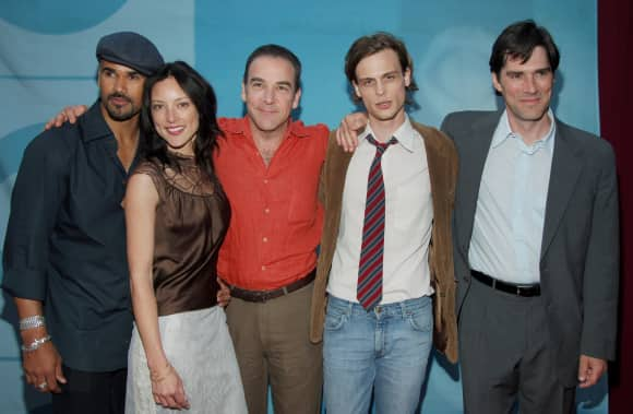 "The Cast of ""Criminal Minds"" in 2005"