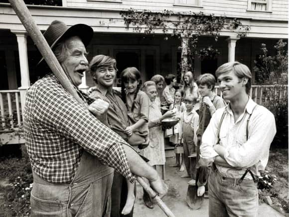 """The Waltons"" was first broadcast in 1972"