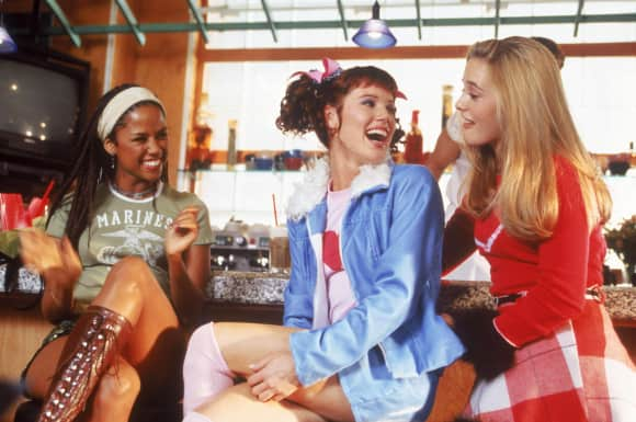 "Stacey Dash, Elisa Donovan and Alicia Silverstone in ""Clueless"""