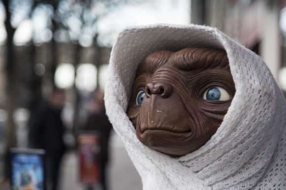 """The world's most famous extraterrestrial: """"E.T."""""""