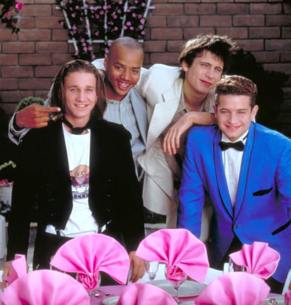 "Breckin Meyer, Donald Faison, Jeremy Sisto and Justin Walker in ""Clueless"""