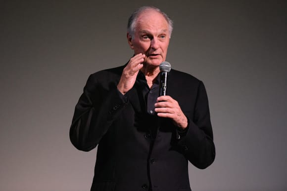 "Alan Alda starred in ""The Good Fight"" in 2018"