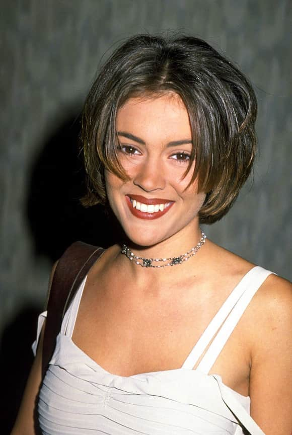 Alyssa Milano starred on Charmed for eight years.