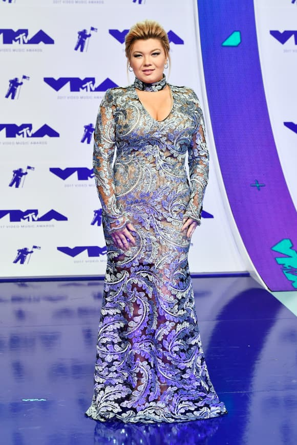 Amber Portwood attends 2017 MTV Video Music Awards at The Forum