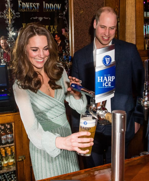 Barmaid Kate - Royals as you've never seen them!