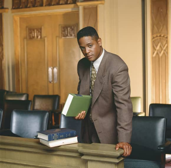"""Blair Underwood played the role of """"Jonathan Rollins"""" in L.A. Law"""