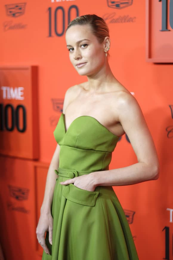 Brie Larson at the TIME 100 Gala 2019