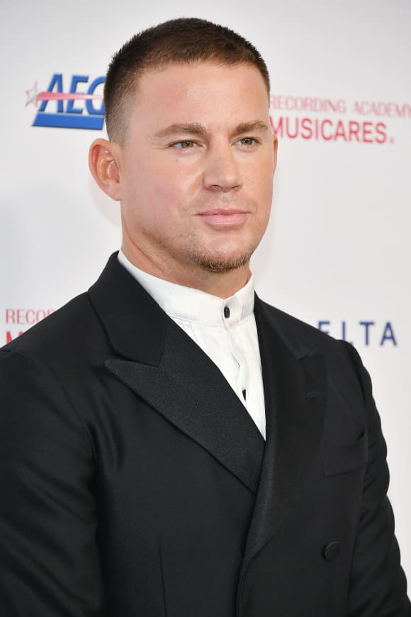 Channing Tatum attends MusiCares Person of the Year honoring Aerosmith at West Hall at Los Angeles Convention Center on January 24, 2020 in Los Angeles, California