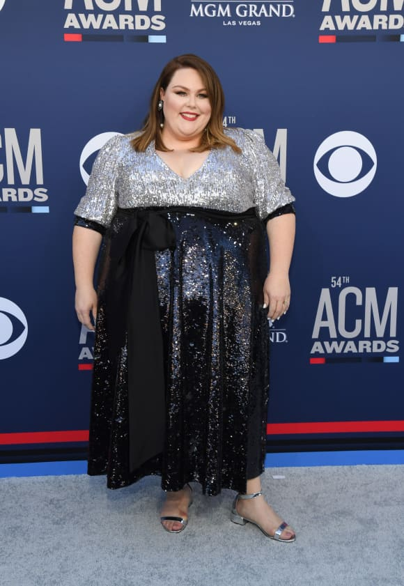 Chrissy Metz at the 54th Academy of Country Music Awards