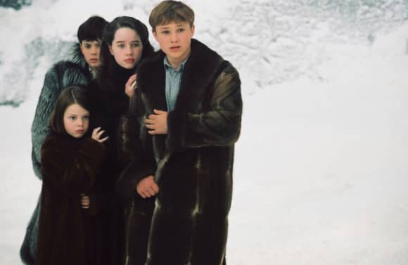 Georgie Henley, Skandar Keynes, Anna Popplewell and William Moseley in 'The Chronicles of Narnia'.
