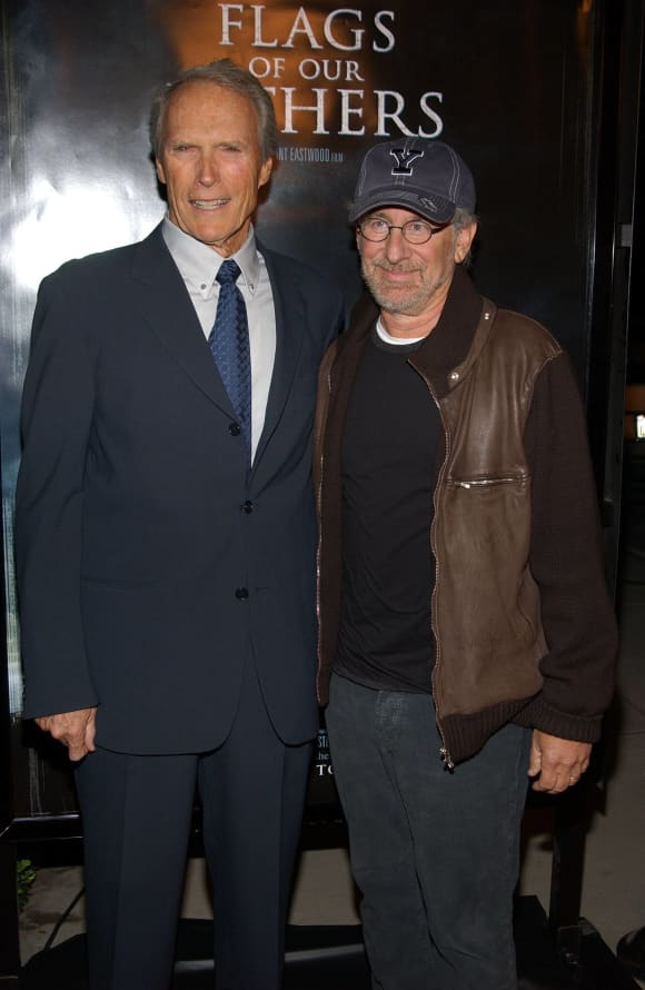 Clint Eastwood and Steven Spielberg