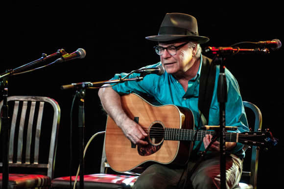 Singer and songwriter David Olney died on stage after having a heart attack.