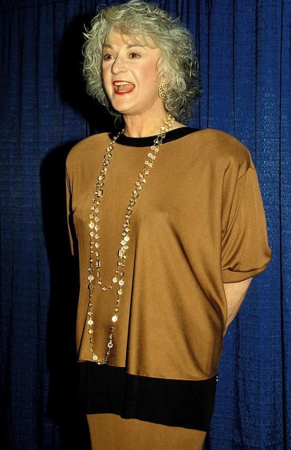 """Beatrice 'Bea' Arthur played the role of """"Dorothy Zbornak"""" on The Golden Girls"""