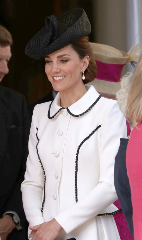 Duchess Catherine at the Order of the Garter on June 17th, 2019