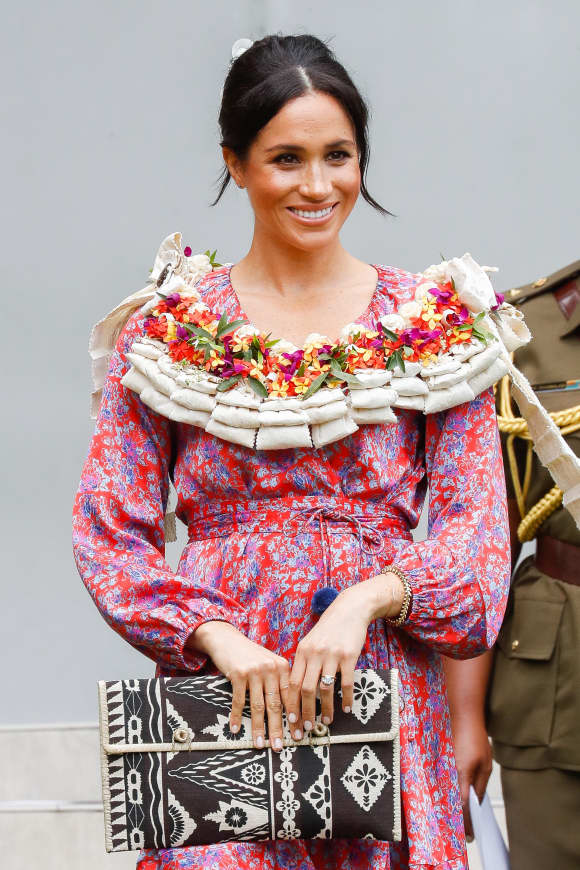 The Duchess of Sussex visits the University of the South Pacific in Suva, Fiji