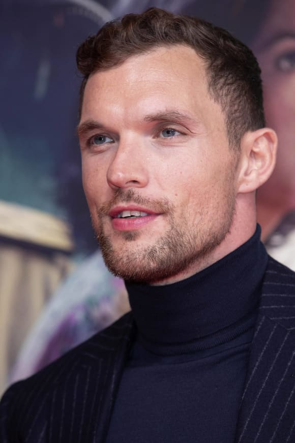 Ed Skrein at the premiere of Midway at the ARRI Cinema Munich, 24 10 2019.