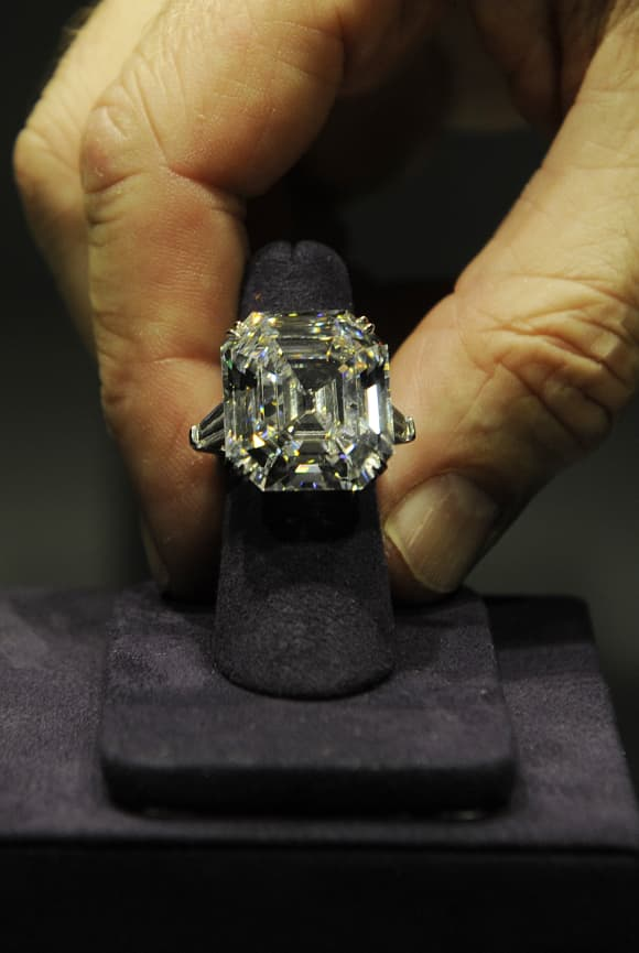 Elizabeth Taylor's engagement ring