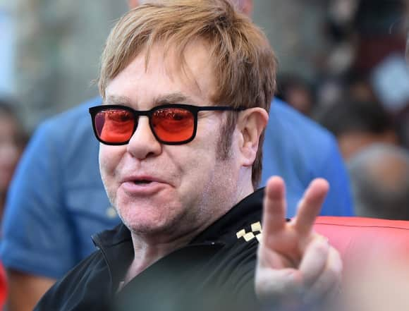 Sir Elton John was knighted in 1998