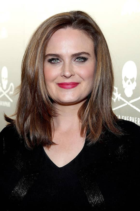 Emily Deschanel today