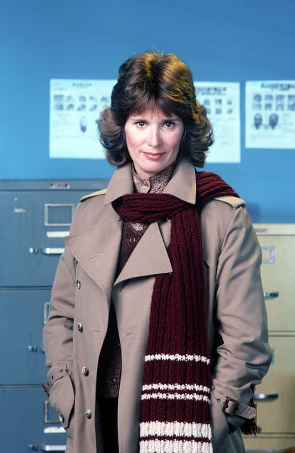 """Barbara Bosson played the role of """"Fay Furillo"""" on Hill Street Blues"""