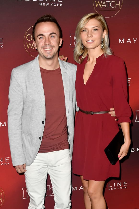 "Frankie Muniz and Paige Price attend People's ""Ones To Watch"" at NeueHouse Hollywood on October 4, 2017 in Los Angeles, California"