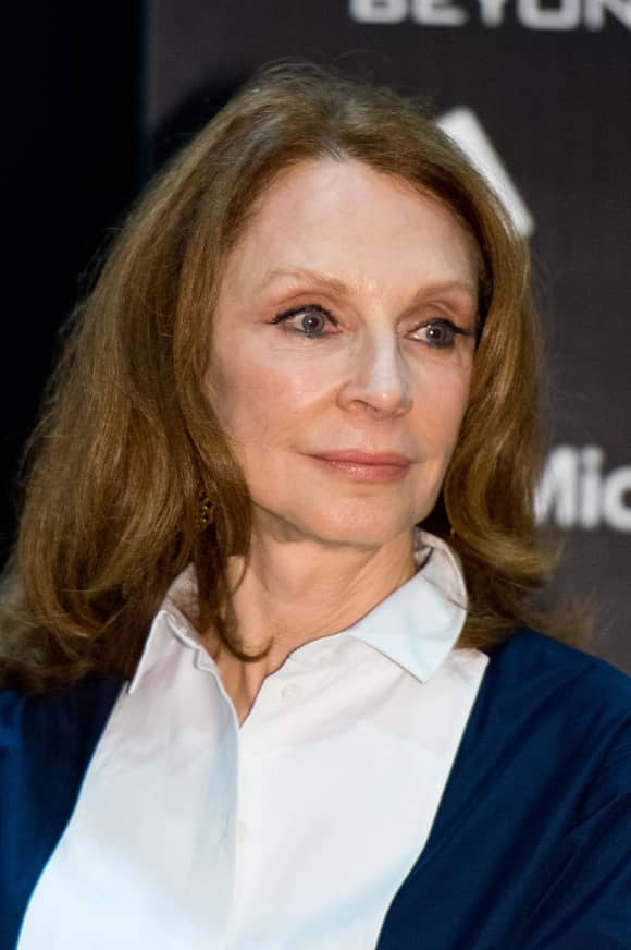 Gates McFadden also starred in all the Star Trek feature films up to 2002.